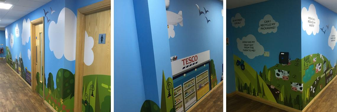 Large Format - Wall Graphics